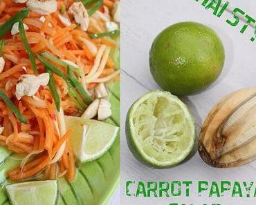 Thai Style Carrot Papaya Salad