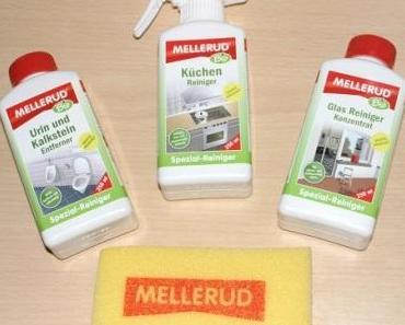 """Bioreiniger der MELLERUD Chemie GmbH im Test """"Glas Reiniger, Urin Kalkstein Entferner und Küchen Reiniger"""""""