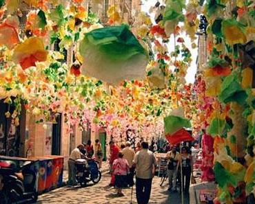 Fiestas de Gracia in Barcelona
