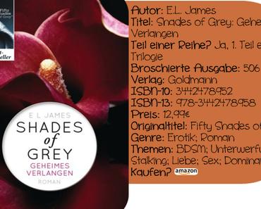 """[Rezension] """"Shades of Grey: Geheimes Verlangen"""" von E.L. James"""