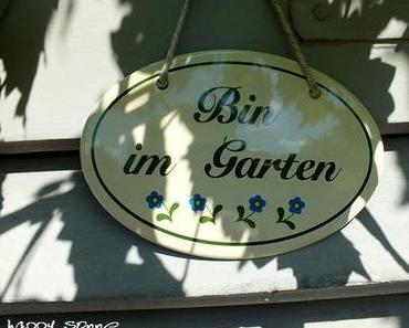 Sommer und Herbst begegnen sich im Garten!