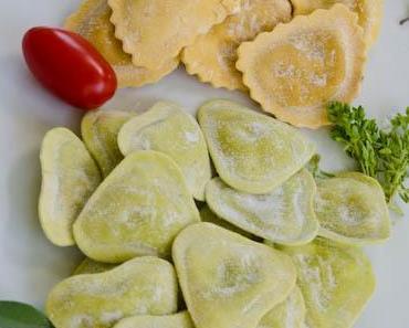 Einkäufe vom Markt in Luino – Due di Pasta: Pomodori / Basilico