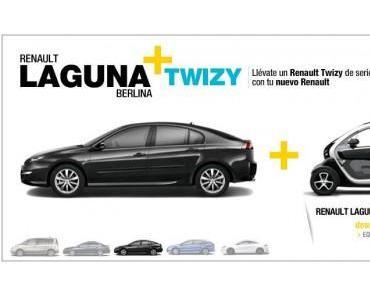 Renault bietet in Spanien 2 für 1 Aktion
