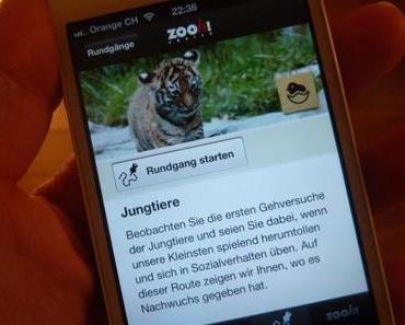 Von Tier zu Tier mit der Zoo-App