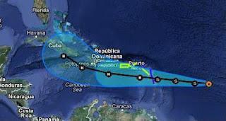 Tropischer Sturm ISAAC: Sturmwarnung Kleine Antillen und Puerto Rico