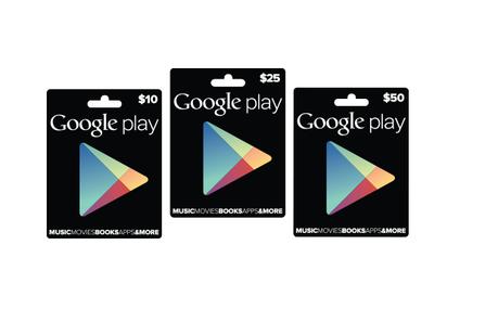 Google Play: Guthabenkarten offiziell vorgestellt