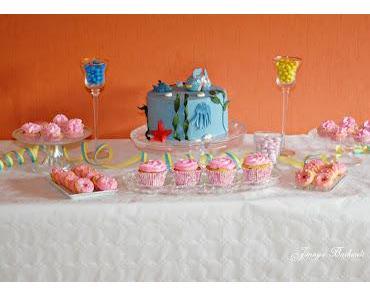 Kuchenbuffet zum Kindergeburtstag