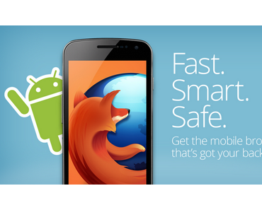 Firefox für Android: Version 15 bringt Verbesserungen für Tablets