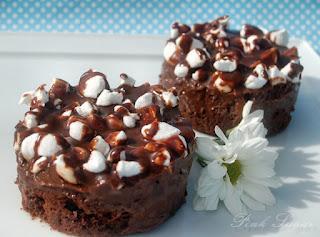 Fudgy Chocolate Marshmallow Brownies