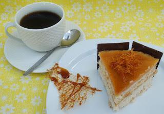 Milchreis-Birnen Torte
