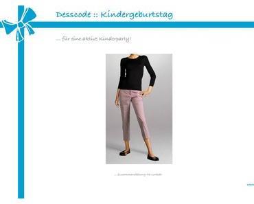 Dresscode: Kindergeburtstag