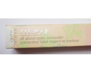 Review: Clinique All About Eyes Concealer in 04 Medium Petal