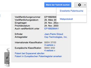 Wie Google Patentrecherchen popularisieren wird