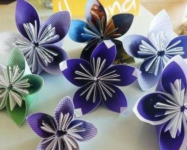 Hochzeits DIY: Kusudama Papierblumen / Wedding DIY: Kusudama paper flowers