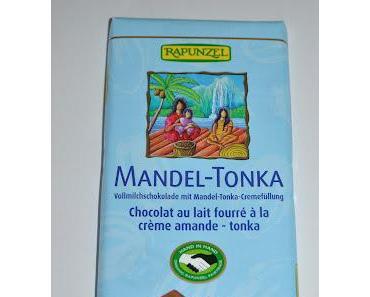 Rapunzel Mandel-Tonka Schokolade, Schöneberger Probierpack und 3 Kokoshappen