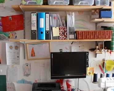 Mein Arbeitszimmer. Ohne Glitzer.