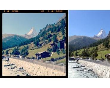 Zermatt und das süsseste Polizeiauto der Welt
