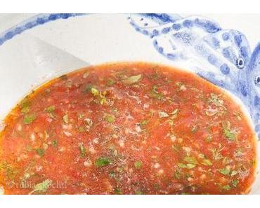 Tomaten & Basilikum Sauce für Pasta