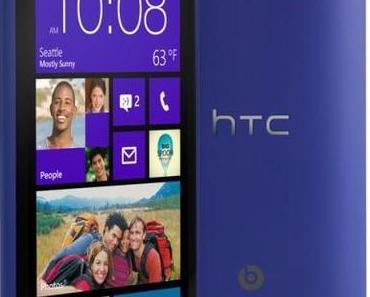 HTC 8X und HTC 8S: Line-Up mit Windows Phone 8 offiziell vorgestellt