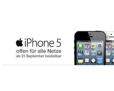 Das iPhone 5 kann in Österreich ab heute Nacht vorbestellt werden