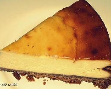 New York Cheesecake with lemon [Bakery]