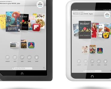 Nook HD und Nook HD+: Neue Tablets von Barnes & Noble mit HD-Auflösung