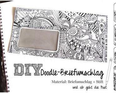 DIY - Doodle-Briefumschlag