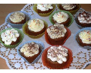Gefüllte Schokoladen-Cupcakes