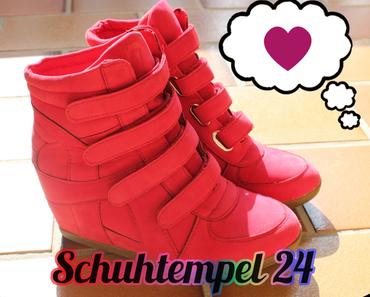 Meine neuen Sneaker Wedges von Schuhtempel24.de ♡