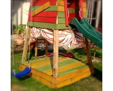 Pimp das Spielhaus: 5. Sonnenschutz