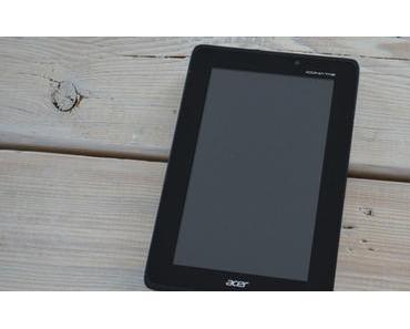 Acer Iconia Tab A110: Tegra 3-Tablet im deutschen Unboxing und Kurztest