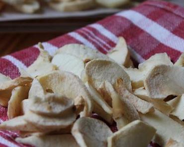 Trockene Äpfeln / Apfelchips