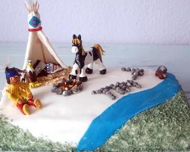 Eine Indianertorte zum Kindergeburtstag...