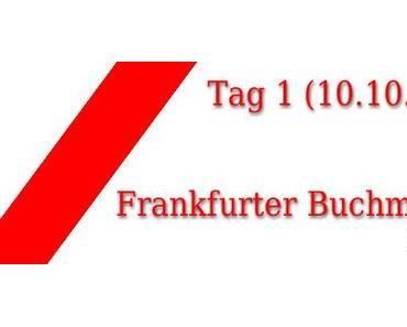 Frankfurter Buchmesse 2012: Tag 1