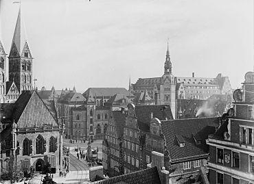 Historische und zeitgenössische Bremen-Ansichten