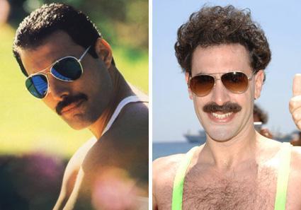 Borat spielt Freddie Mercury - eine gute Idee?