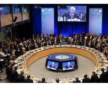 IWF sieht Finanzkollaps, wenn die Banken nicht schnell mehr Geld erhalten