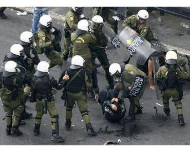 Merkel-Besuch: 7.000 Polizisten schützen Athen gegen gefährlichen Gast