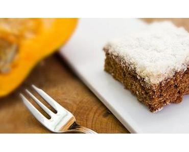 Kürbis-Kokos Kuchen Rezept