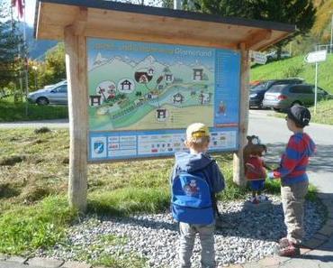 Ferienprogramm: Spiele- und Erlebnisweg Glarnerland