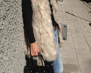 Münchener Herbst-Blogger-Fashion Outfit – Bag, Heels, Laptop