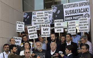 Türkei: Künstler wegen harmloser Meinungsäußerung bezüglich des Islam vor Gericht