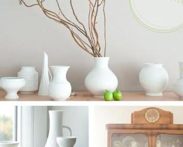 Lieblingsstücke (Weiße Vasen)