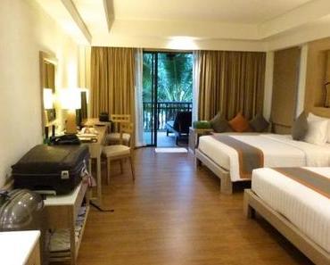 Unser Hotel-Zimmerchen auf Koh Chang