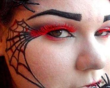 Halloweenlook - fröhliches Gekrabbel