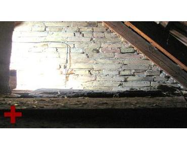 Wärmedämmung für den Dachboden im Notfall
