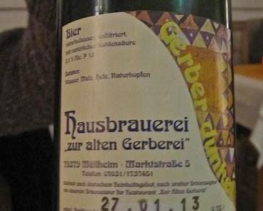 """Geburtstags-Dinner in der """"Alten Gerberei"""" in Müllheim"""