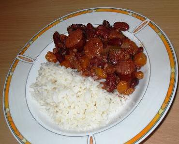 Rote Bohnen mit Reis (Monday Red Beans & Rice)