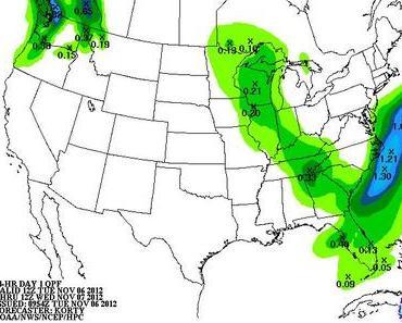 Sturm USA Ostküste Liveticker 7., 8. und 9. November 2012