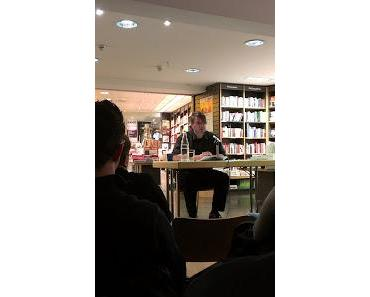 Markus Heitz liest aus Die Legenden der Albae Dunkle Pfade bei Hugendubel in Hannover